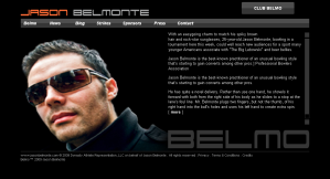 New index page for jasonbelmonte.com